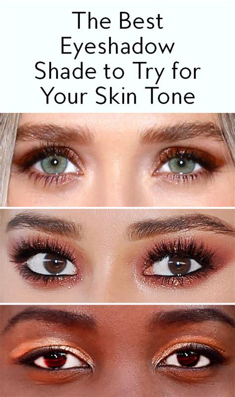 eyeshadow shade     skin tone instylecom