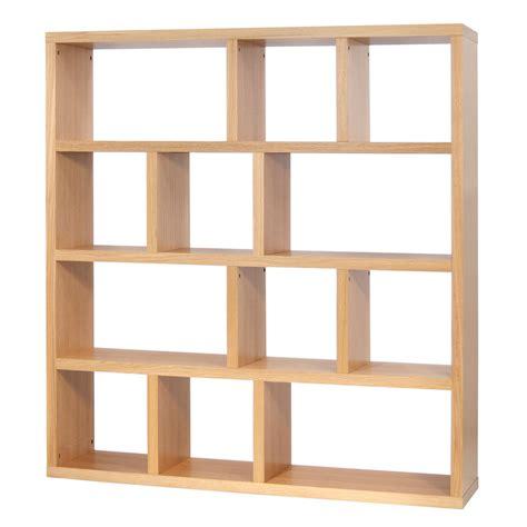 bout de canapé chêne etagère bibliothèque berlin 4 niveaux 150 cm chêne 9500