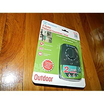 westinghouse  outdoor photocell timer  single
