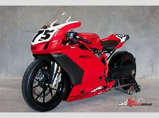 Stretched custom Ducati 749 turbo dragster Bike Review