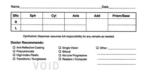 eye prescription form why are contact lens prescriptions different than eye