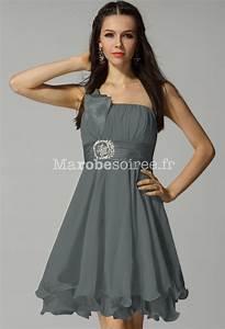 la mode des robes de france robe de soiree grise et fushia With robe rose et grise