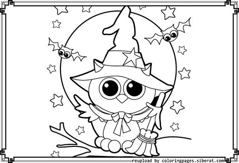 Cute Halloween Coloring Pages ? Festival Collections