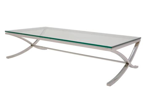 Couchtisch Chrom Glas by Glass Chrome Coffee Table Rectangle Writehookstudio