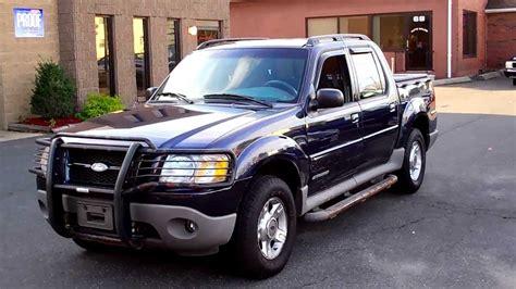 2001 Ford Explorer Sport Trac Xlt 4wd 4dr Pickup 4.0l V6