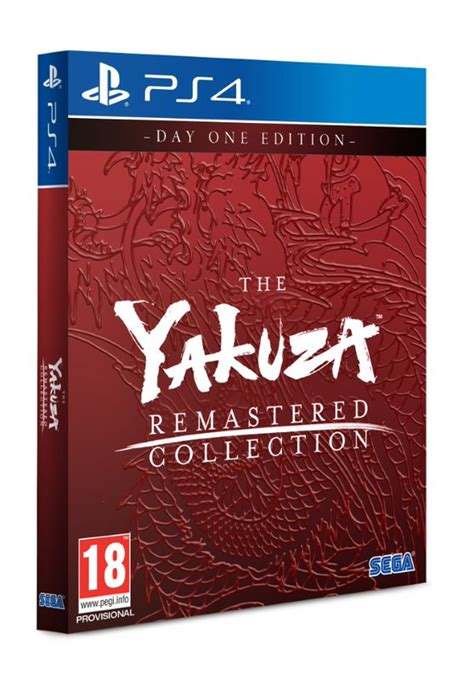 yakuza remastered collection day  edition ps