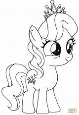 Spoon Coloring Pages Getcolorings Pon Pony Simple Silver sketch template