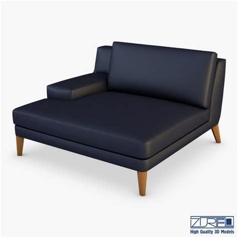 chaise roche bobois roche bobois playlist large 3 seat chaise 3d model 3dhunt co
