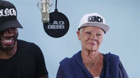 WATCH: Judi Dench Raps with U.K. Grime Music Star Lethal ...