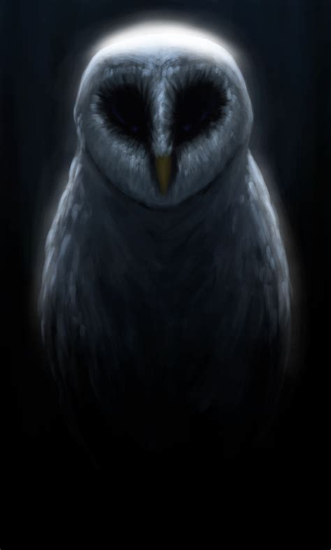 Creepy Owl Wallpapers by The Owl By Sketch On Deviantart