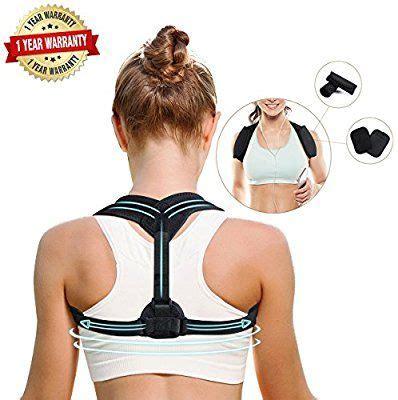 Amazon.com: Back Brace Posture Corrector Adjustable, Back ...