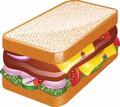 Sandwich Clipart Transparent Clip Sandwiches Background Cheese