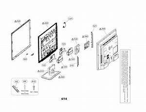 Lg 32ln5310 Lcd Television Parts