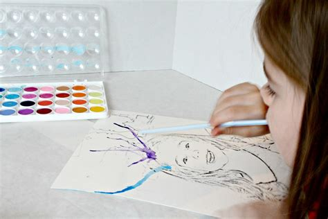 creative watercolor art project favecraftscom