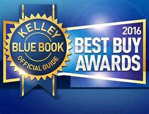 Kelley Blue Book Announces Winners Of 2016 Best Buy Awards