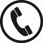 Icon Phone Email Vector Telephone Symbol Line