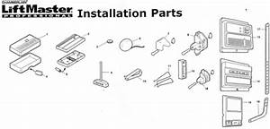 Sears Instalation Parts For All Openers