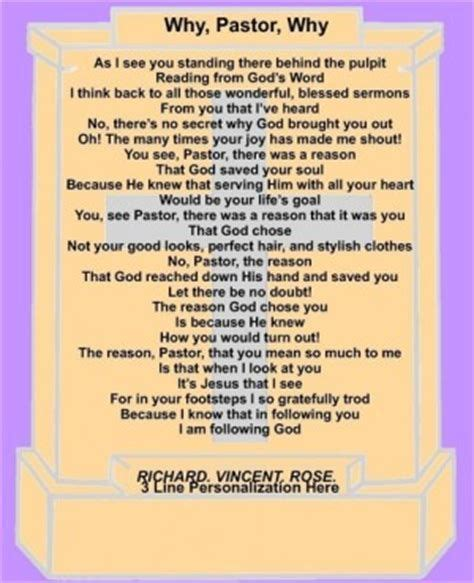 inspirational poems  pastor anniversary yahoo search