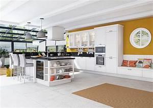 Tapisserie Pour Cuisine : cuisine blanche pourquoi la choisir marie claire maison ~ Premium-room.com Idées de Décoration