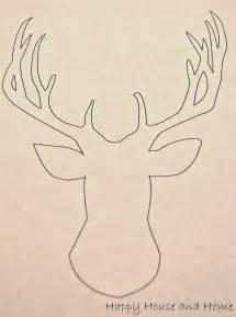 Printable Cut Out Moose Head
