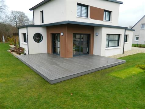 comment poser une cuisine les terrasse bois moderne autres péètres par
