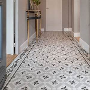 mixer parquet chevron et carreaux de ciment saint maclou With carrelage imitation carreau de ciment leroy merlin
