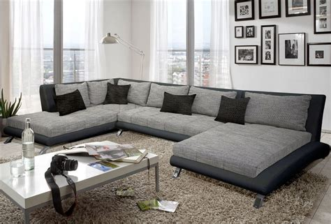grand canapé d angle en tissu canapé d 39 angle tissu design