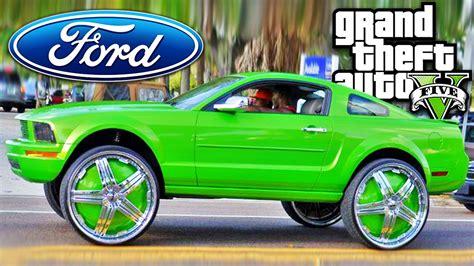 GTA 5 CARRO FORD MUSTANG TUNING - YouTube