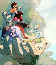 Comic Steven Universe Characters