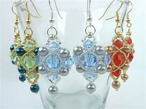 Free Beading Pattern For Regal Earrings