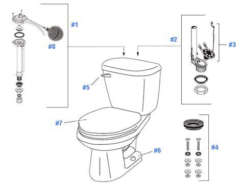 repair replacement parts  gerber maxwell toilets