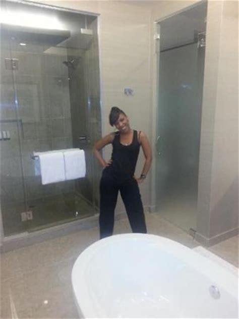 bathroom picture  aria sky suites las vegas tripadvisor