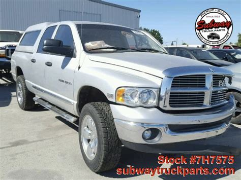 Used Dodge Ram by Used Parts 2005 Dodge Ram 5 7l Laramie 4x4 Subway Truck