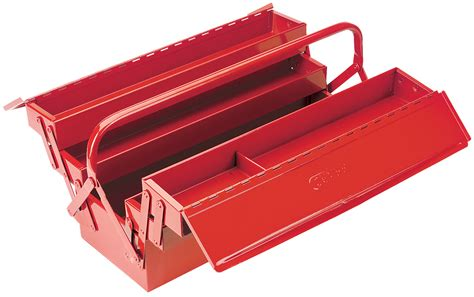 expert 530mm four tray cantilever tool box
