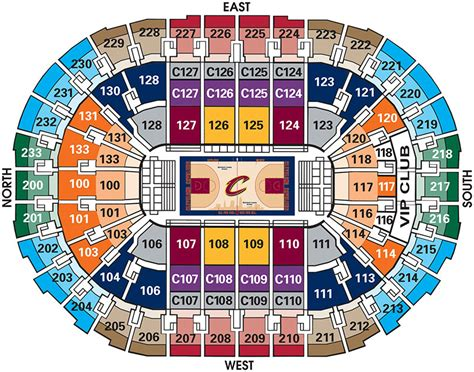 Cavs Lakers Floor Seats by Cavaliers Vs L A Lakers Quicken Loans Arena Official
