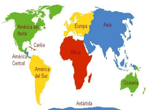 Carte Du Monde Facile by 5 Continentes
