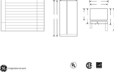 ge refrigerator gshjfxbb user guide manualsonlinecom