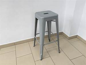 Barstuhl Sitzhöhe 65 Cm : barstuhl metall grau im industriedesign barhocker grau metall sitzh he 61 cm ~ Bigdaddyawards.com Haus und Dekorationen