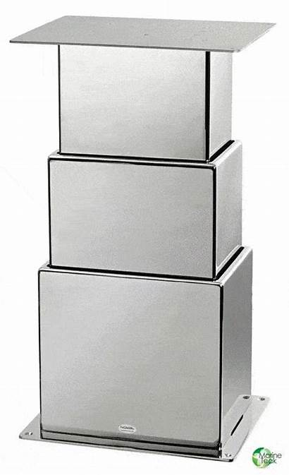 Stage Pedestal Electric Steel Stainless Square Pedestals