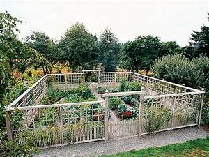 Awesome Vegetable Garden Fence — Fence Ideas : Ideas for