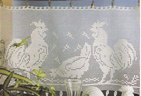 rideaux en crochet patron crochet rideaux brise vue le de crochet et tricot d de suzelle