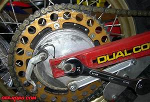 Dirt Bike Tech The Ultimate Chain Guide Tool   Off