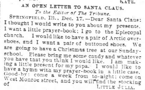 victorian letters to santa kristin holt