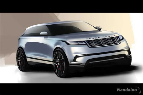 Land Rover Range Rover Velar Photo by Land Rover Range Rover Velar En Photos Hd Wandaloo