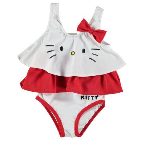 character kids swim suit baby girl water pool beach