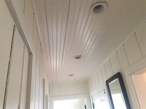 Beadboard Ceiling Pictures : Beadboard Ceiling Install