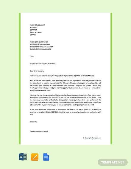 motivation letter  university template word
