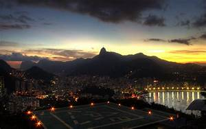 cityscapes, city lights, Rio De Janeiro, cities :: Wallpapers
