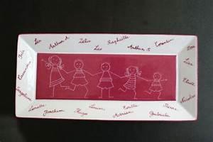 Plat à Cake : plat cake fond pourpre personnalis avec les pr noms ~ Teatrodelosmanantiales.com Idées de Décoration