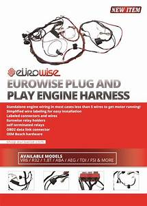 Eurowise Plug And Play Engine Harness  1 8t  Aba  Aeg